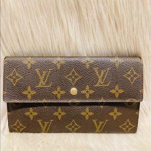 Louis Vuitton International Wallet  #5.7p MI 888